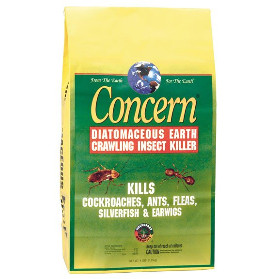 Concern Diatomaceous Earth Crawling Insect Killer - 4 lb.  (Case of 8) Best Price