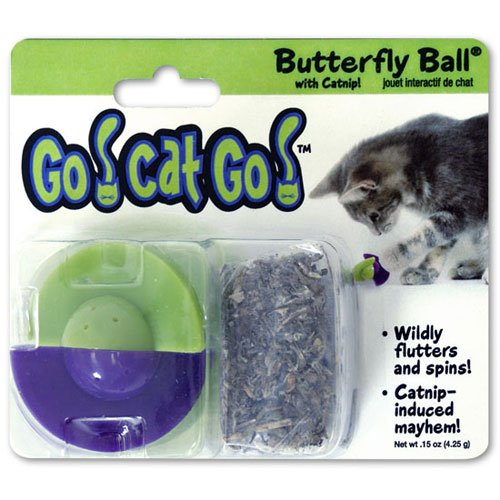 Go Cat Go Butterfly Ball