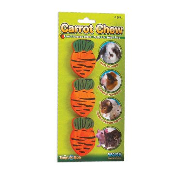 Small Carrot Chews for Small Animals Best Price