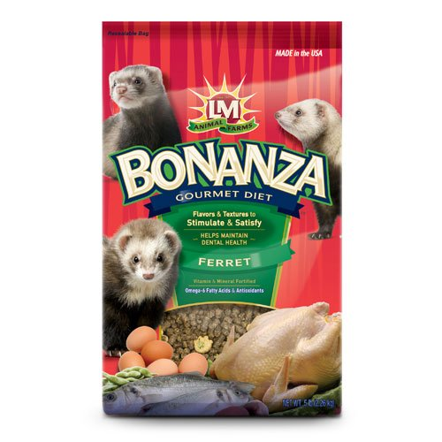 Bonanza Ferret Food 5 Lbs