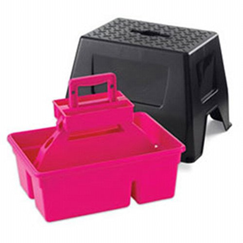 Duratote Step Stool for Home and Barn / Color (Hot Pink) Best Price