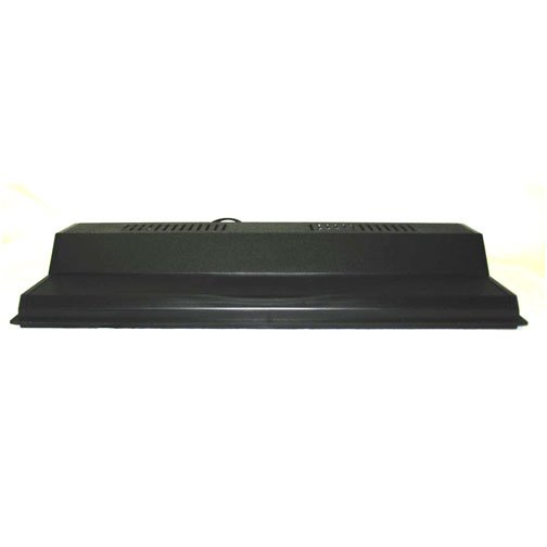 Recessed Full Hood Flo Ul Black / 20 In.