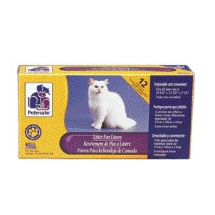 Petmate Cat Pan Liners / Size (Large) Best Price