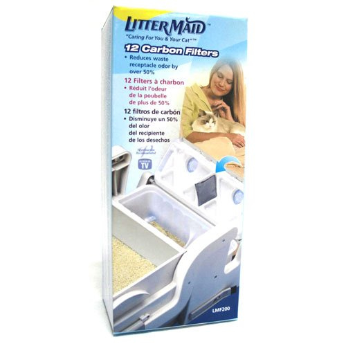 Littermaid Filters 12 Pk