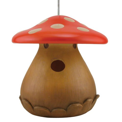 Hang This Mushroom Shaped Birdhouse From A Tree, Deck Or Patio To Add A  Dash Of Charm To Your Lawn. Home Design Ideas