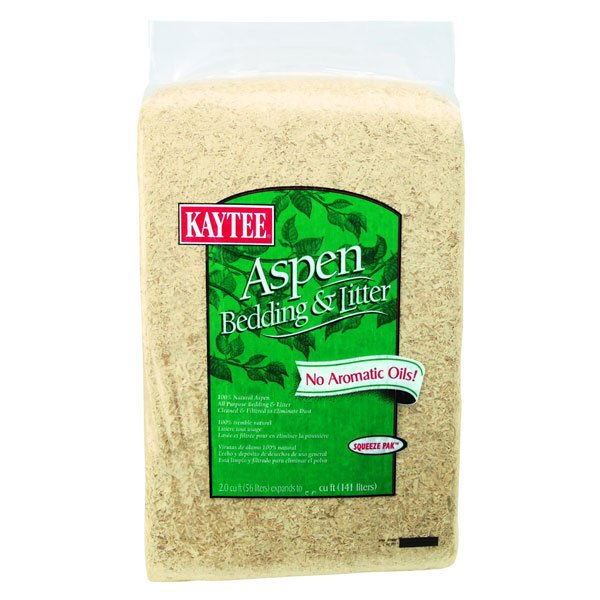 Kaytee Aspen Small Pet Bedding And Litter / Size 4 Cubic Feet