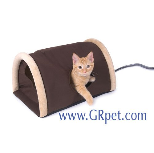 Outdoor Heated Kitty Camper Cat Bed Best Price