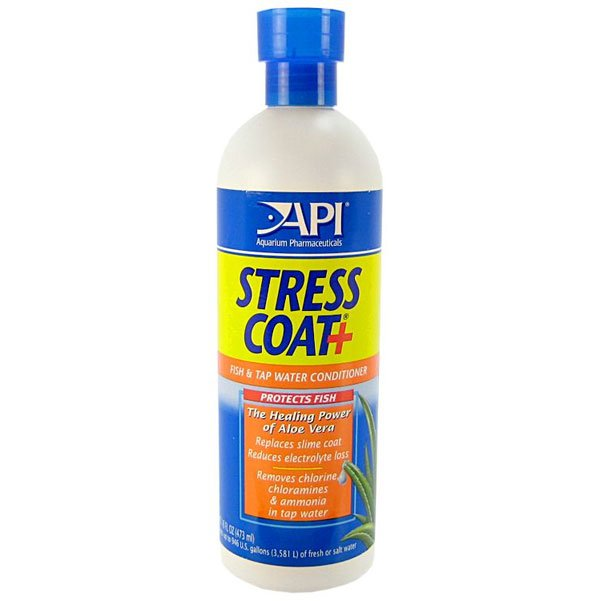 Stress Coat For Aquariums / Size 16 Oz.