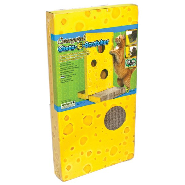 Cheez E Scratcher for Cats Best Price