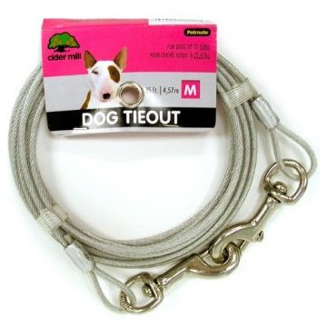 Cider Mill Dog Tie-out / Size (15 ft / 920 lb) Best Price