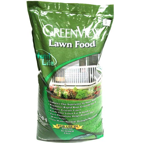 Lawn Fertilizer 22-0-4 with Nutrilife - 5000 sq ft. Best Price
