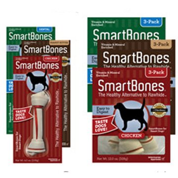 Smartbones Chicken Dog Treats / Size Large / 3 Pk.