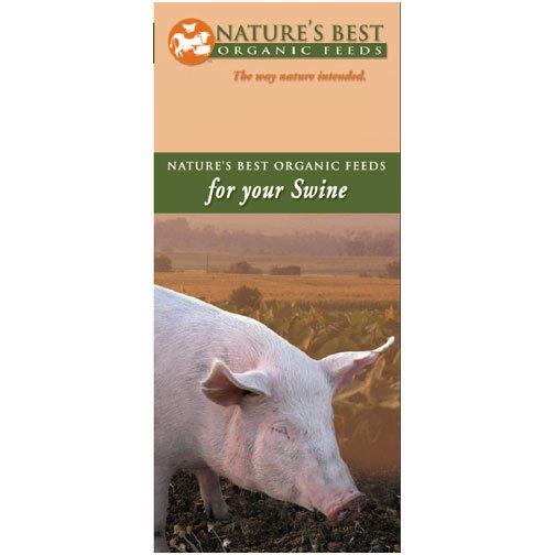Organic 14% Hog Pellets - 50 lbs Best Price