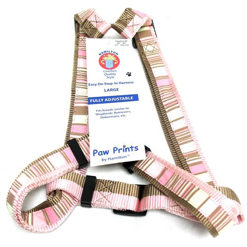Adj. Easy On Dog Harness / Size (Stripe 1 x 30-40 in) Best Price