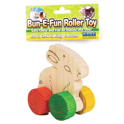 Bun-E-Fun Roller Toy for Small Pets - 4.25 X 1.5 X 5.25 in. Best Price