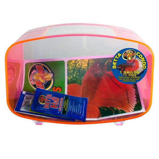 TV Shaped Betta Condo / Color (Hot Pink) Best Price
