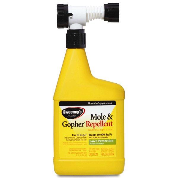 Sweeneys Mole and Gopher Repellent - 32 oz. Best Price