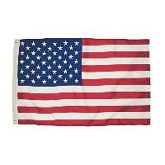 Poly Cotton Flag In Clamshell Packaging - 3  X 5 Best Price