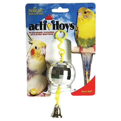 Activitoys Disco Ball Toy for Birds Best Price