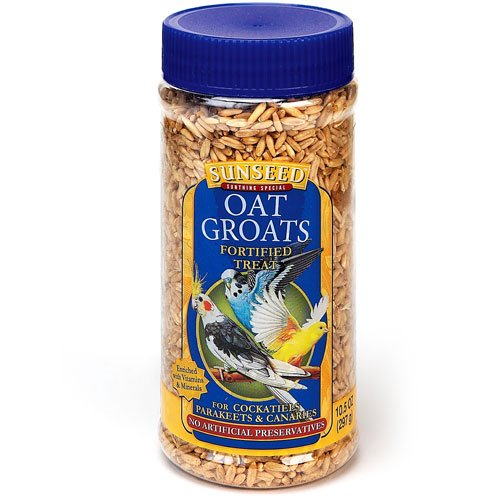 Oat Groats for Tiels  Keets and Canaries 10.5 oz. Best Price