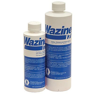 Wazine 17% Livestock Wormer 16 oz. Best Price