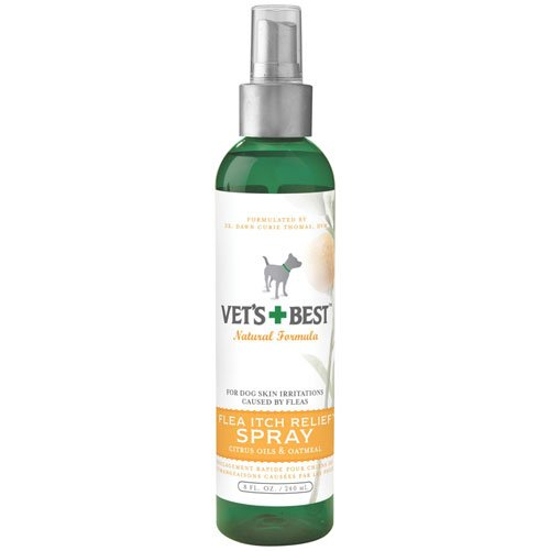 Vets Best Flea Itch Relief Spray For Dogs 8 Oz.