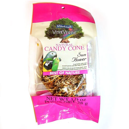Natural Candy Cone For Birds Sunflower