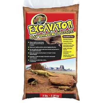Excavator Clay Burrowing Substrate for Reptiles - 25 lb. Best Price