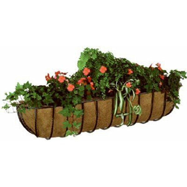 Blacksmith Wall Trough With Coco Liner / Size (36 in.) Best Price