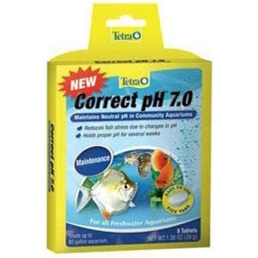 Tetra Correct Ph Tabs 8 Pk