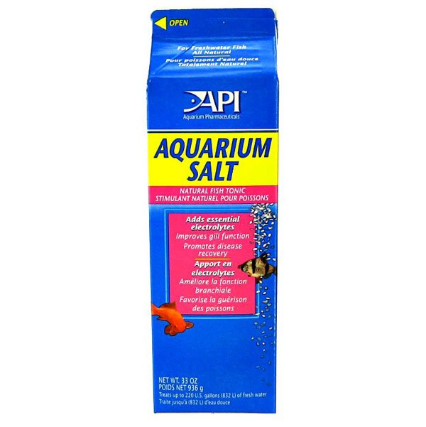 Api Aquarium Salt / Size 33 Oz