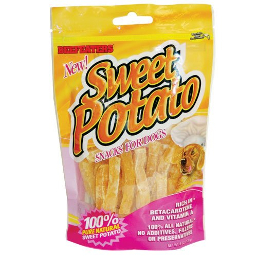 Sweet Potato Strips Dog Treat - 6 oz