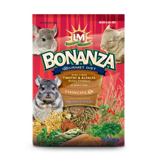 Bonanza Chinchilla Food 2 Lbs