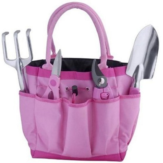 Breast Cancer Awareness Garden 5 piece Gift Tool Set Best Price