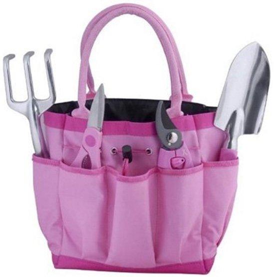 Breast Cancer Awareness Garden 5 piece Gift Tool Set Best Price