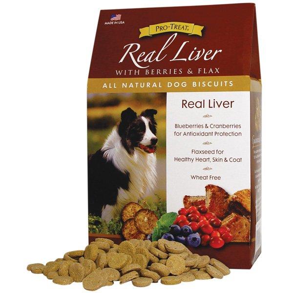 All Natural Dog Biscuits Liver / 16 Oz