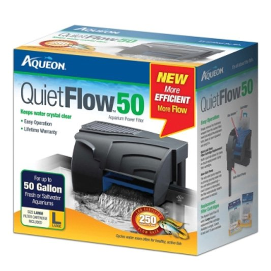 Aqueon Quiet Flow Filter 50 Gal.