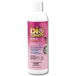 BioSpot Flea and Tick Shampoo for Cats - 12 oz. Best Price