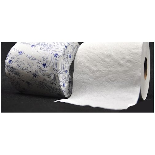 Single Roll 2-Ply Toilet Paper 500 sheets (Case of 96) Best Price