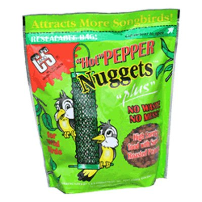 Hot Pepper Nuggets For Wild Birds 27 Oz.