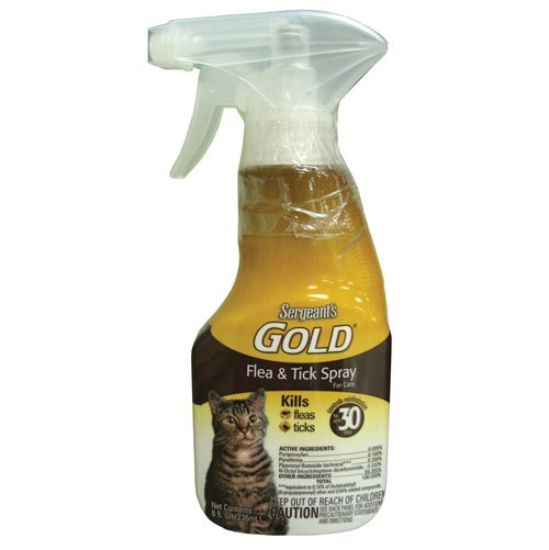 Sergeant Gold Flea and Tick Cat Spray 8 oz Best Price