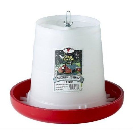 Hanging Chicken and Poultry Feeder / Size (11 lbs.) Best Price