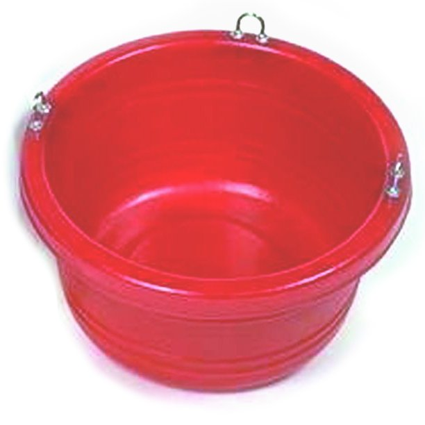 Horse Feed Tub - 30 quart / Color (Red) Best Price