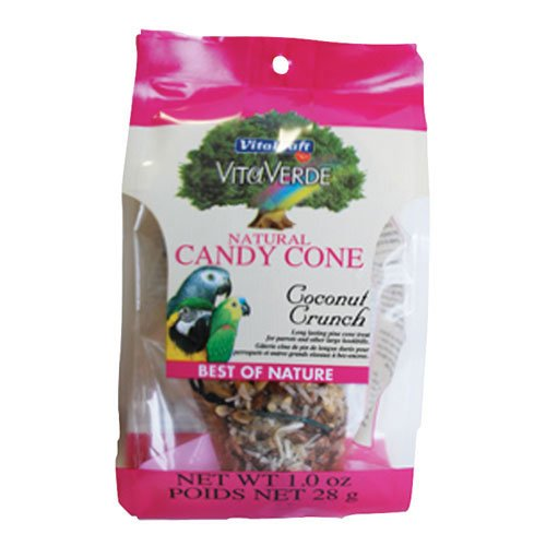 Natural Candy Cone For Birds Coconut