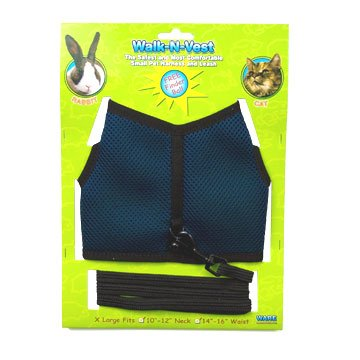 Walk N Vest Leash For Small Animals / Size Xlarge