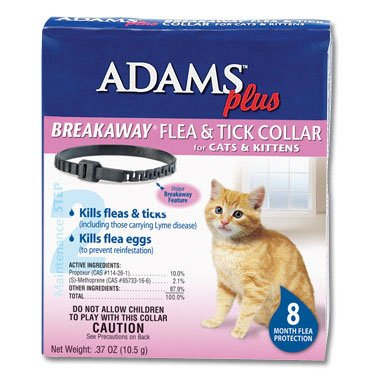 Adams Plus Breakaway Flea and Tick Collar for Cats and Kittens Best Price