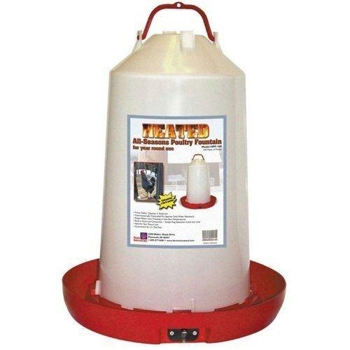 Heated Poultry Fountain 3 gal. - 100 Watt Best Price