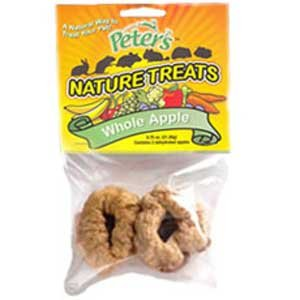 Peters Nature Treats Whole Apple Small Animal Treats - 2 pk. Best Price