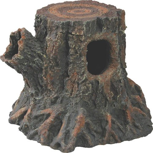 Basking Reptile Stump Den Medium