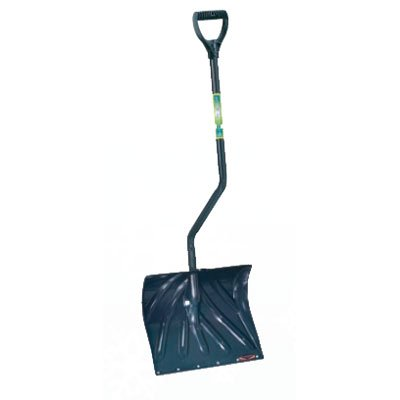 Arctic Blast 18 in. Mountain Mover Poly Shovel with Wear Strip Best Price